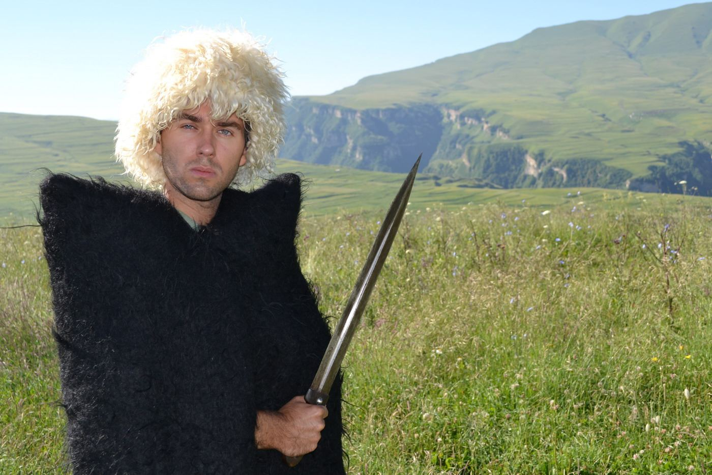 чеченский горец, чечня, горы