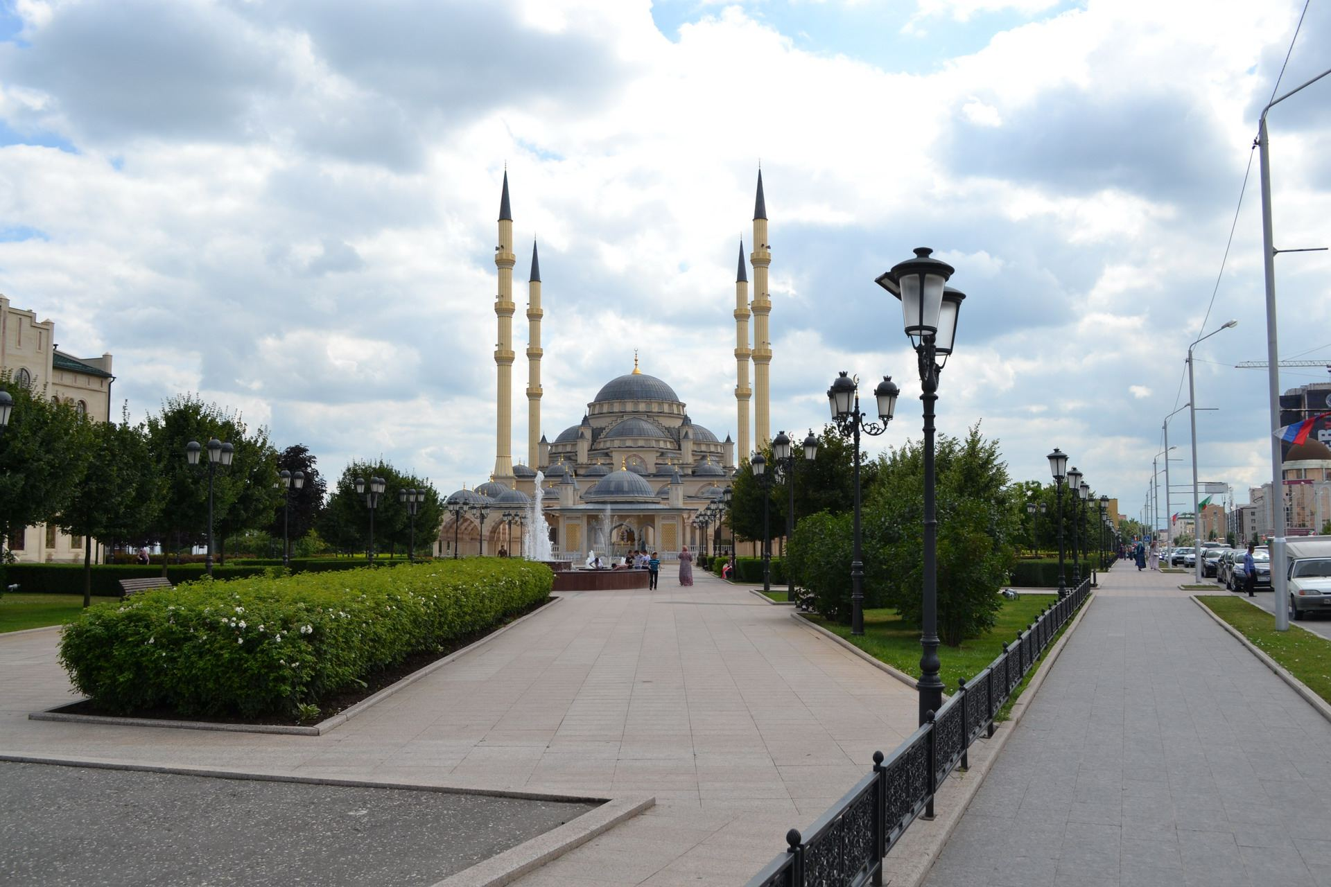 сердце чечни, мечеть