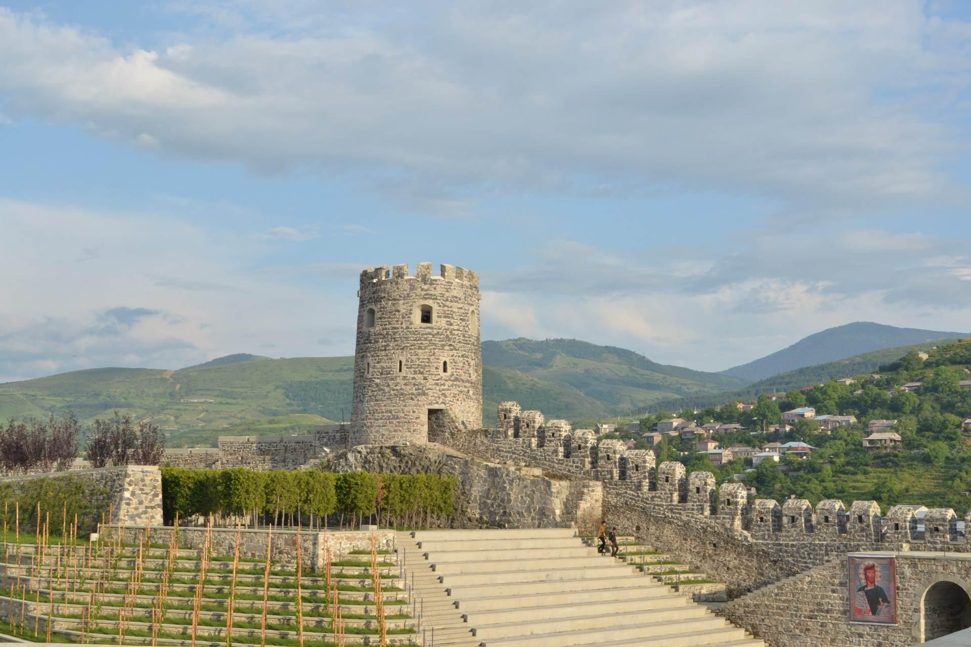крепость рабат внутри, ахальцихе, грузия