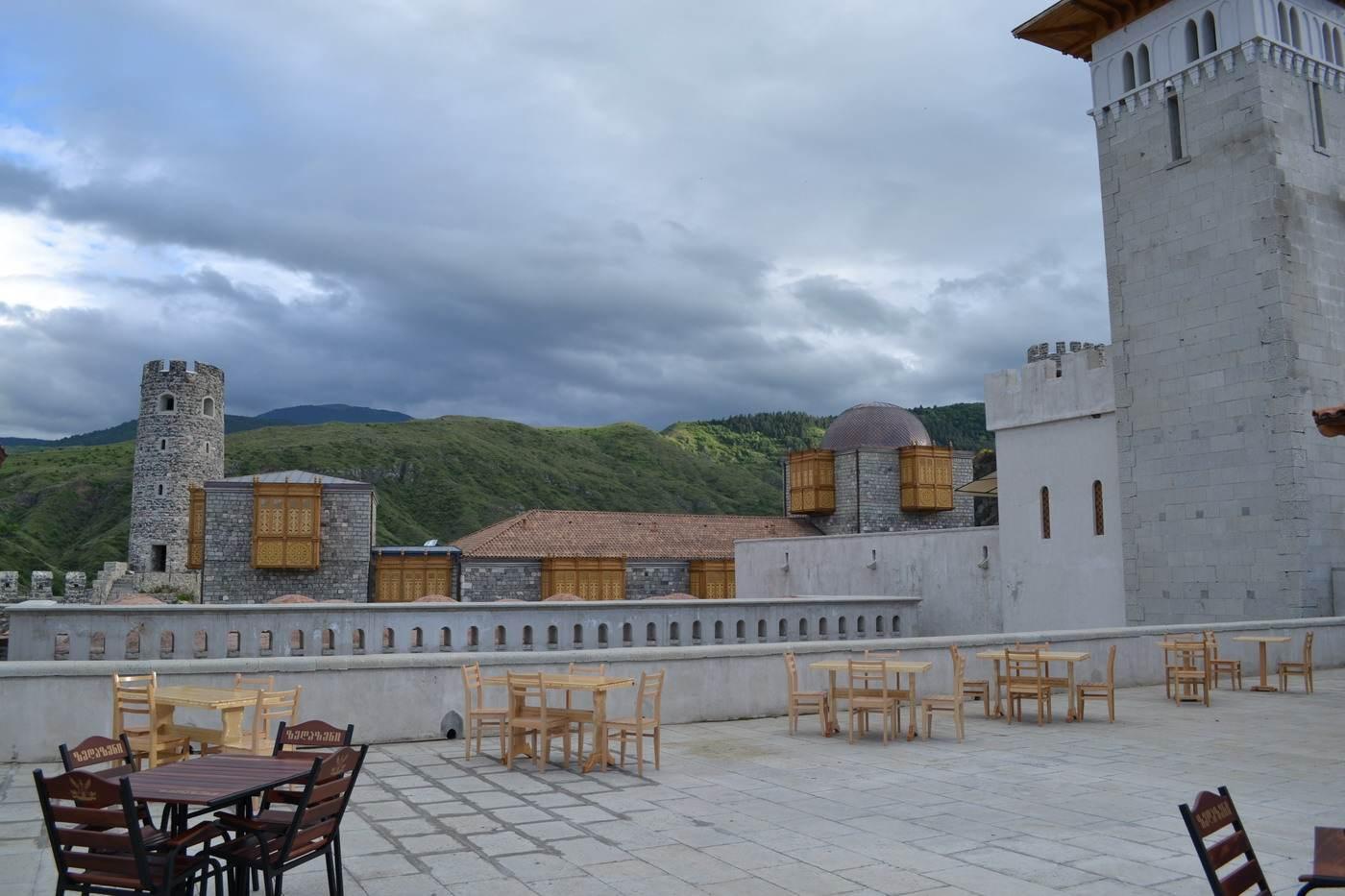 крепость рабат, ахальцихе, ресторан площадка