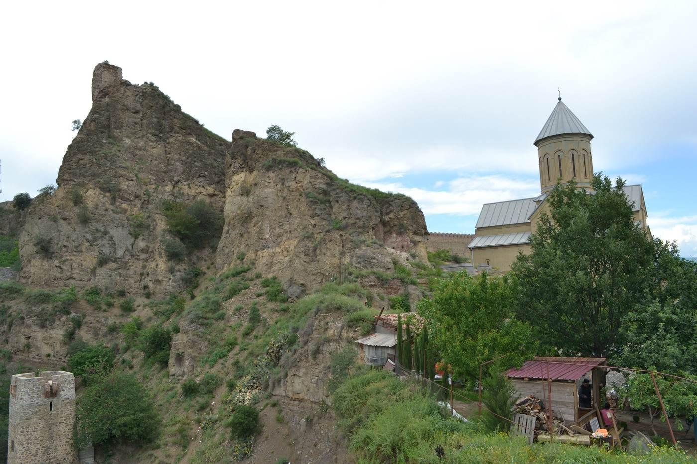 церьковь, грузия, горы