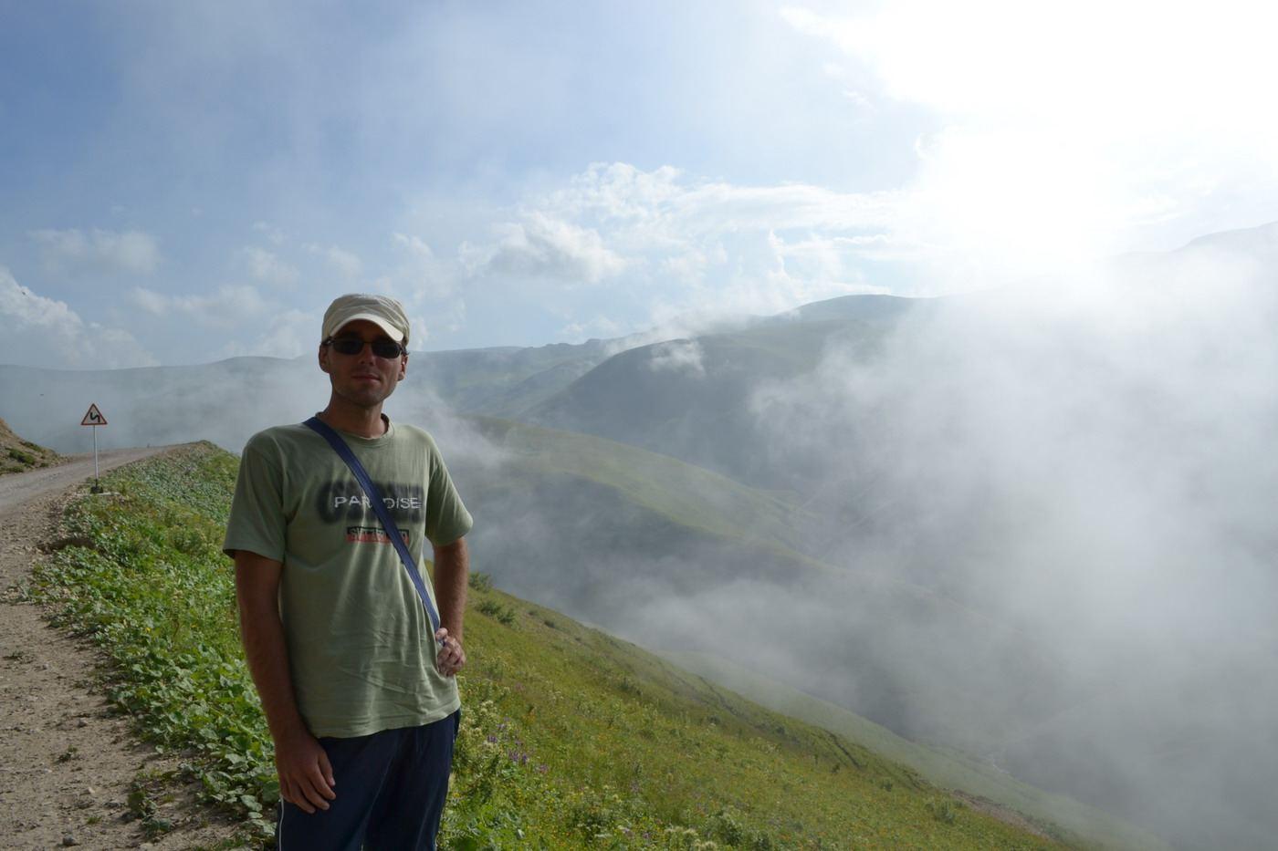 туман, чечня, горы кавказа
