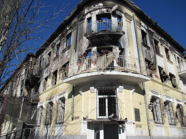 мариуполь сгоревшая милиция прокуратура после пожара война в украине