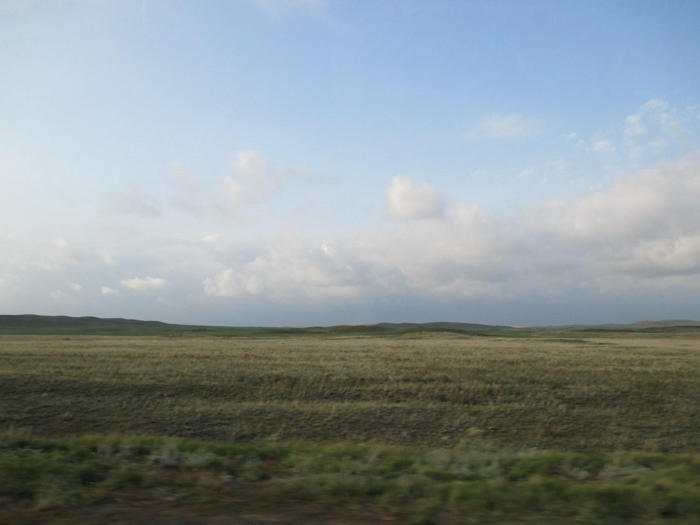 степи казахстана, будто другая планета