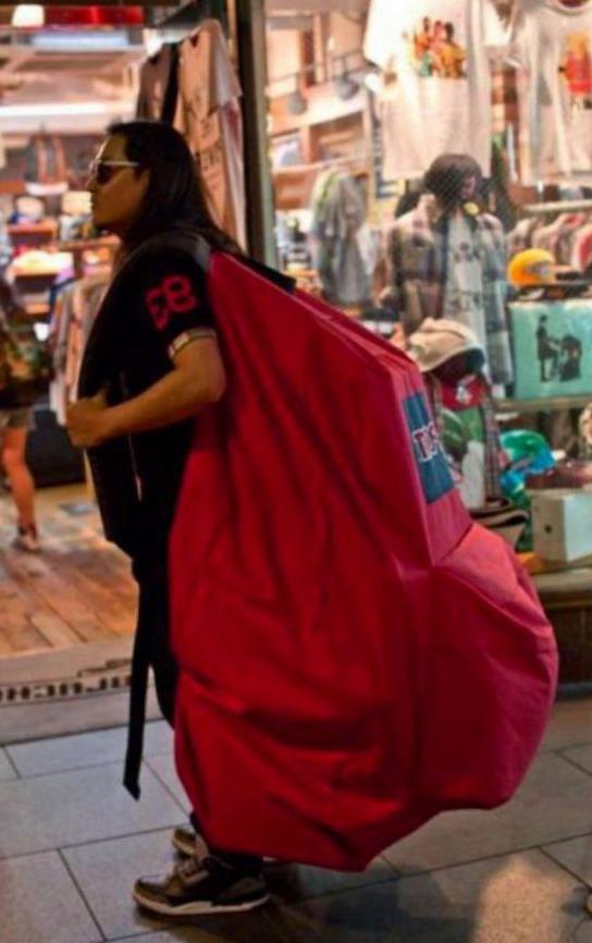 огромный рюкзак