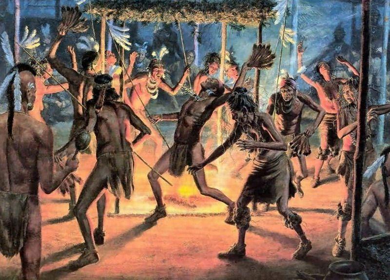 индейцы танцы сальвия