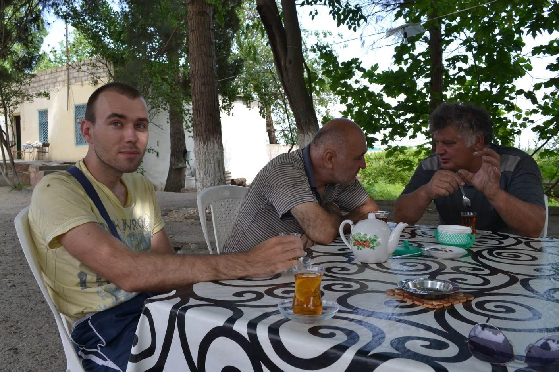 азербайджан, придорожная закусочная