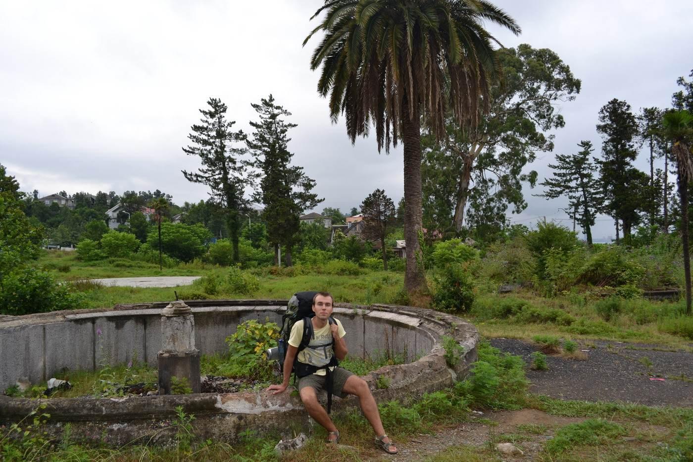 батуми, грузия, ботанический сад
