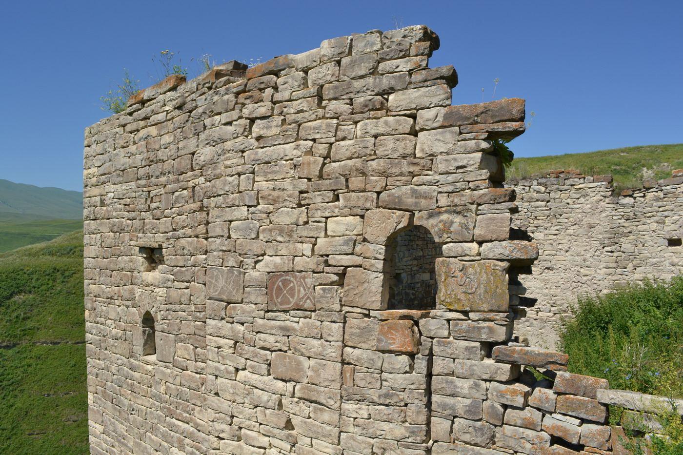 замок горцев, руины, чечня, горы кавказа