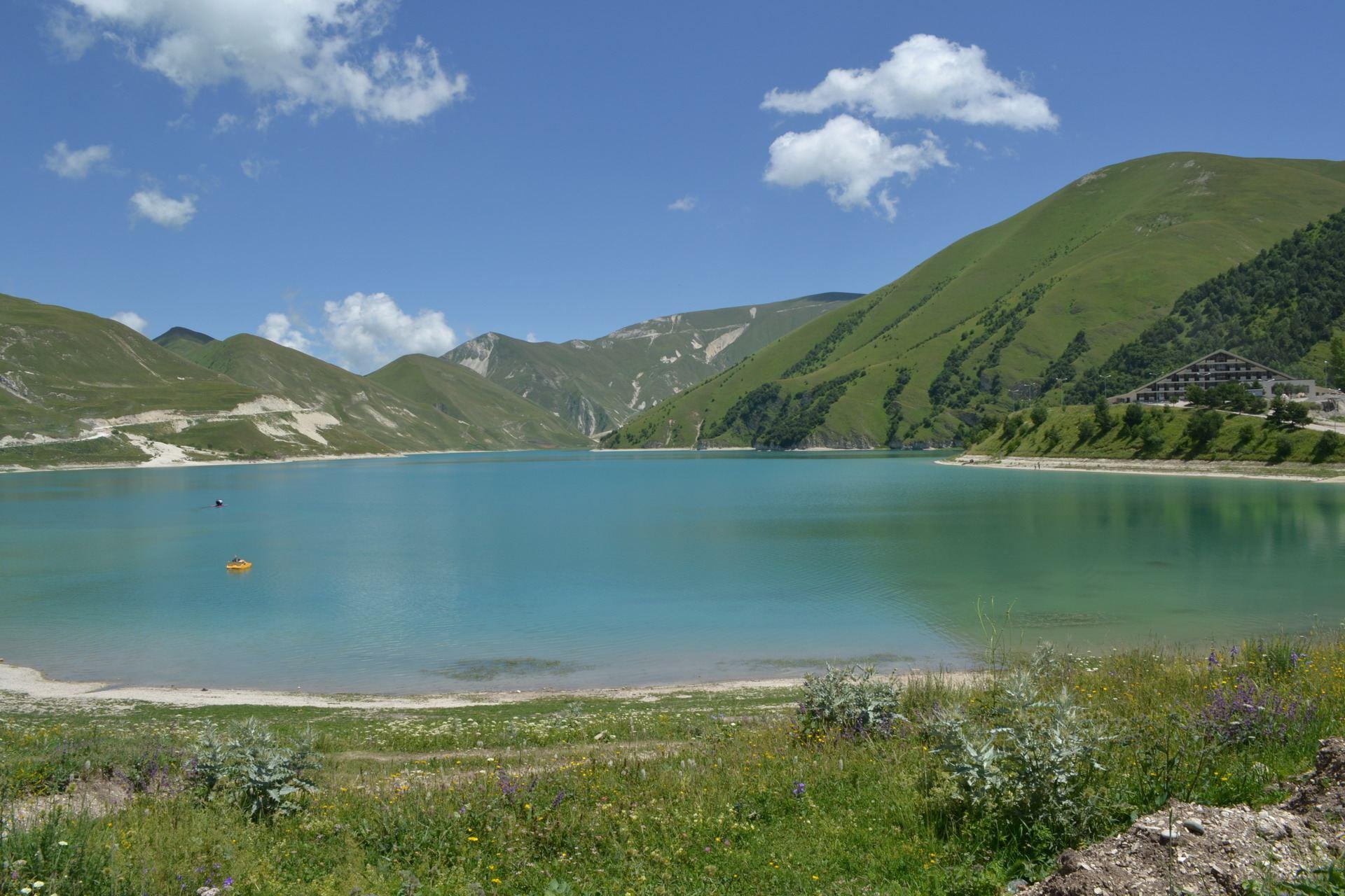 кезеной-ам, озеро, чечня, горы кавказа