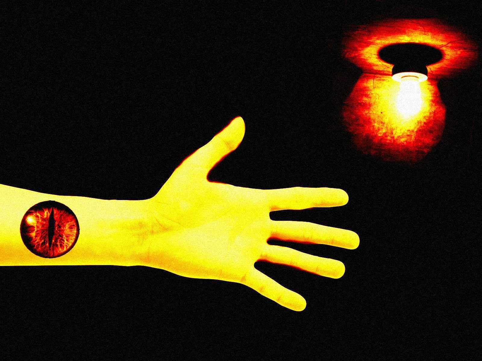 Глаз на руке. Управляющая рука. Осознанный сон. Мистический опыт