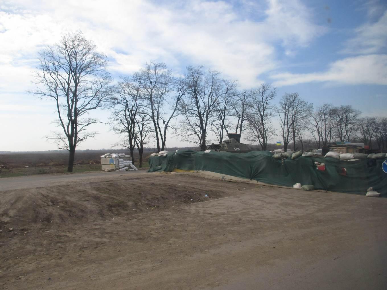 военный блок пост. материал: Автостоп. Украина во время АТО и Путеводимый