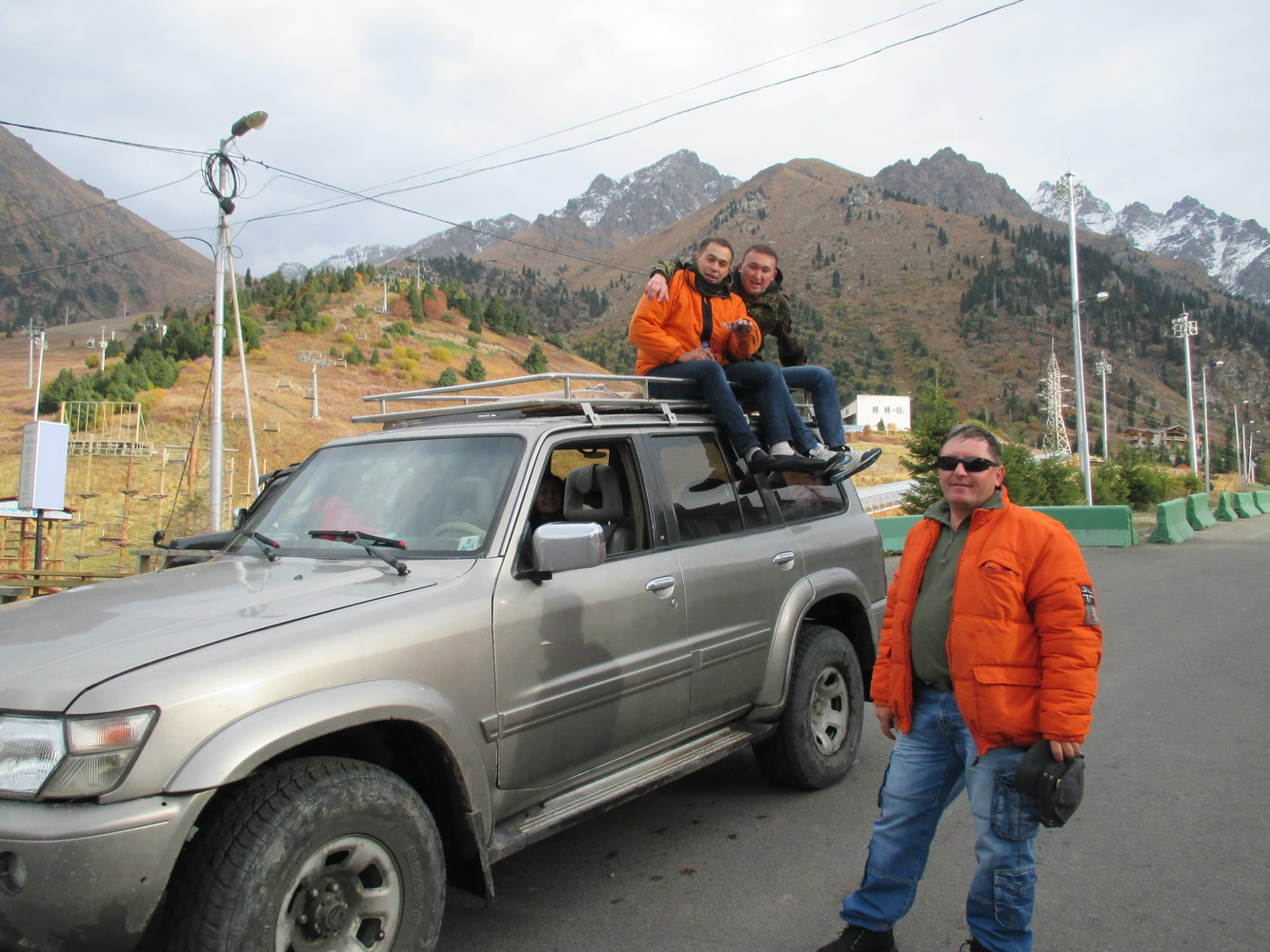 автостоп в горах алатау. казахстан