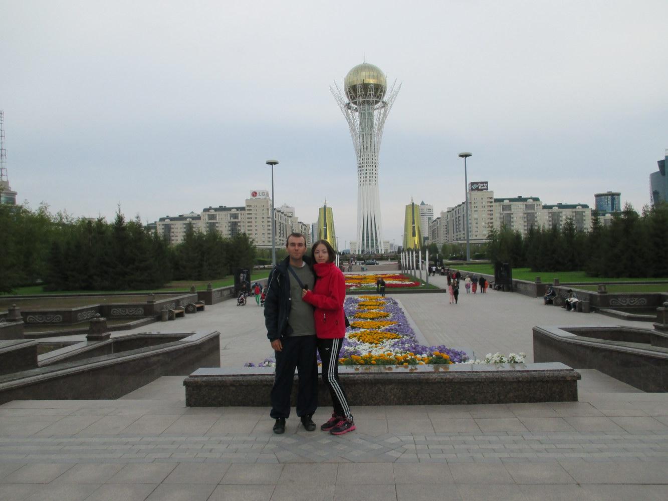 байтерек. астана. путешествие автостопом в казахстан