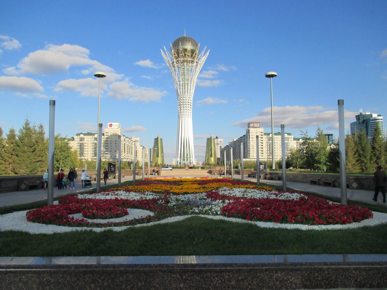 байтерек. астана. символ казахстана