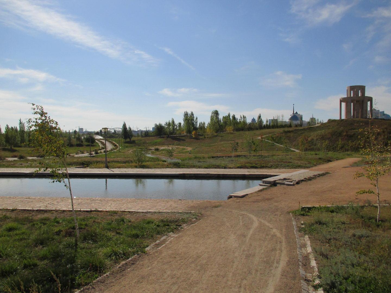 президентский парк. астана. казахстан