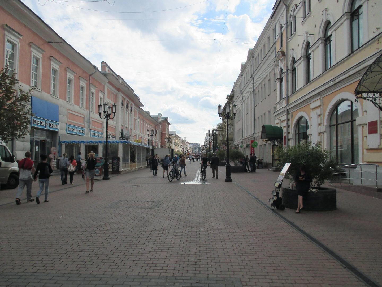 рождественская улица, площадь. нижний новгород