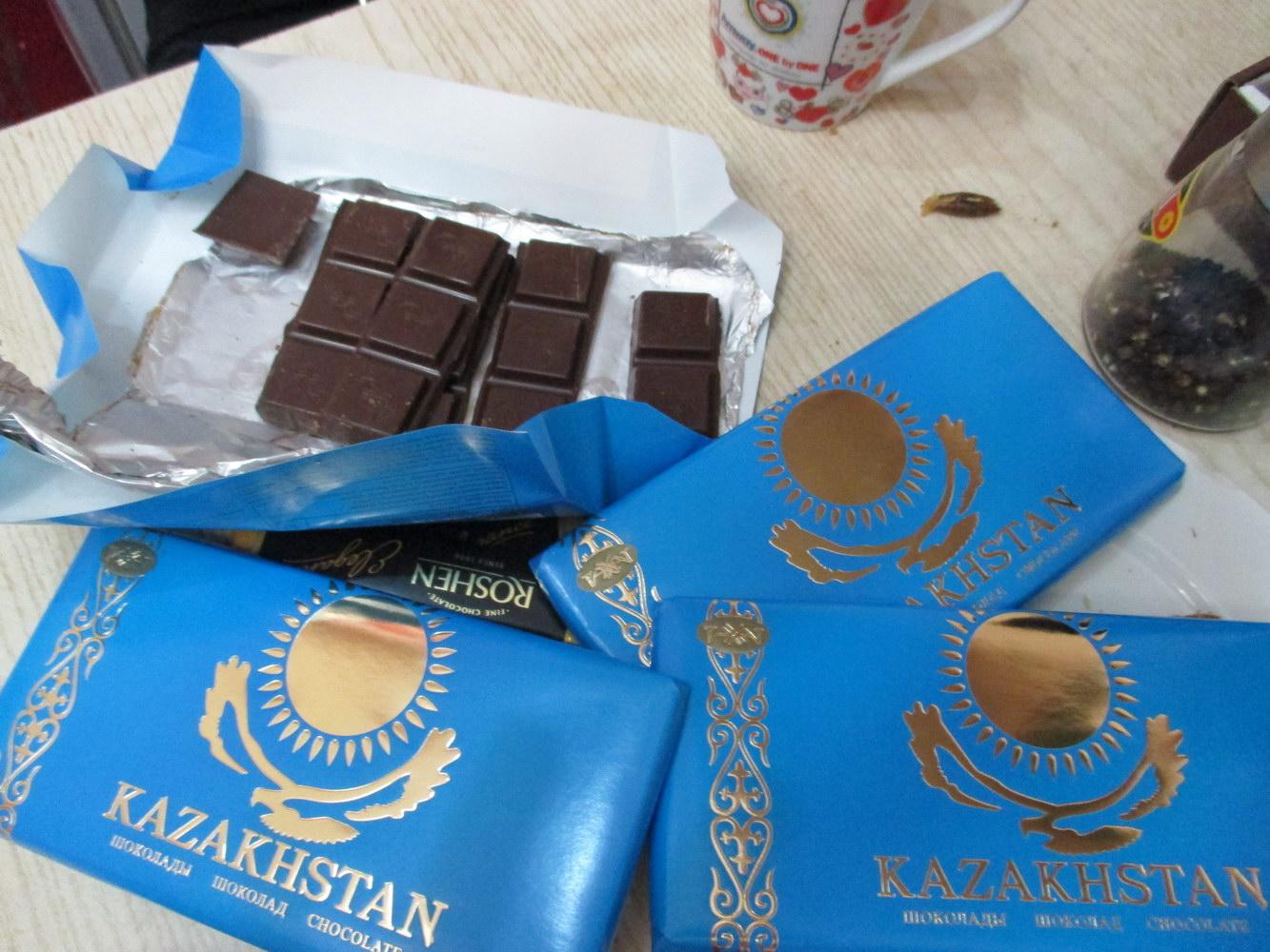 шоколад kazahstan. астана. казахстан