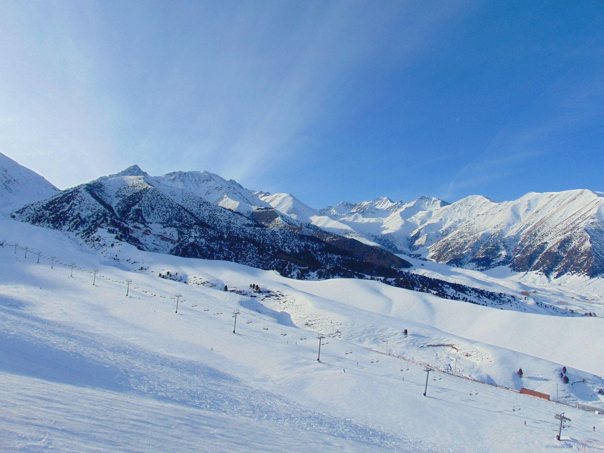 горнолыжная база чункурчак. путешествия кати. киргизия