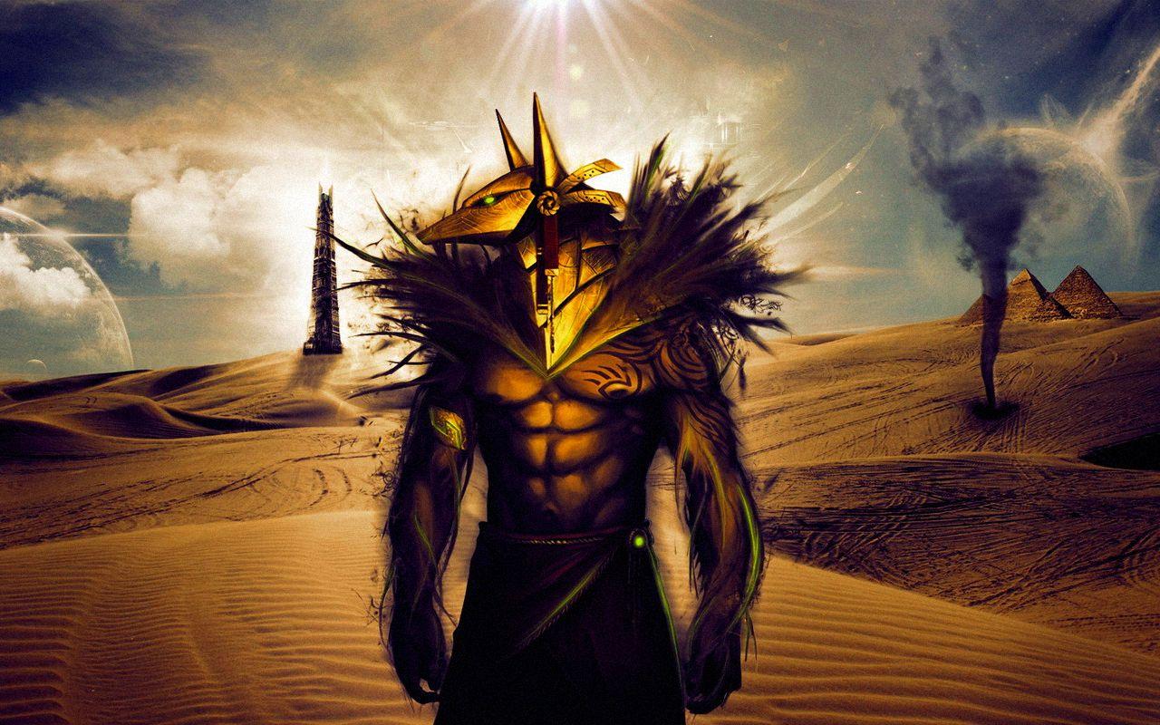 Пустынная планета. Египетский Бог Анубис. Вспомнить своё прошлое во сне. Урок информационных сущностей