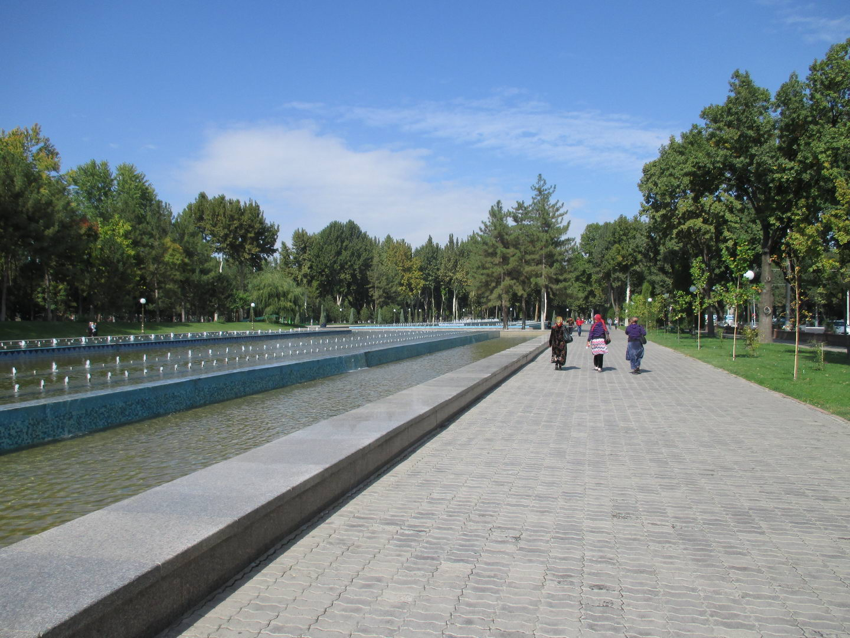 большой фонтан. узбекистан ташкент