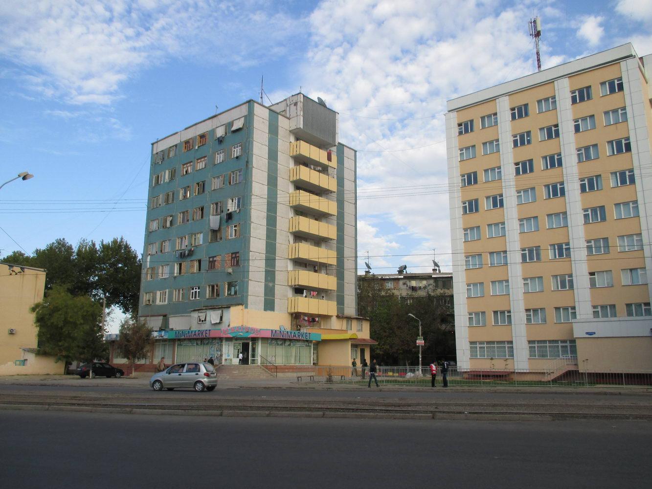 жилые дома. узбекистан ташкент