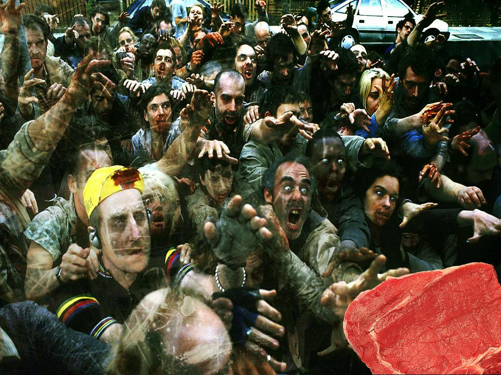 сон про зомби апокалипсис и читерство в выборе оружия. толпа агрессивных мертвяков тянуться к мясу