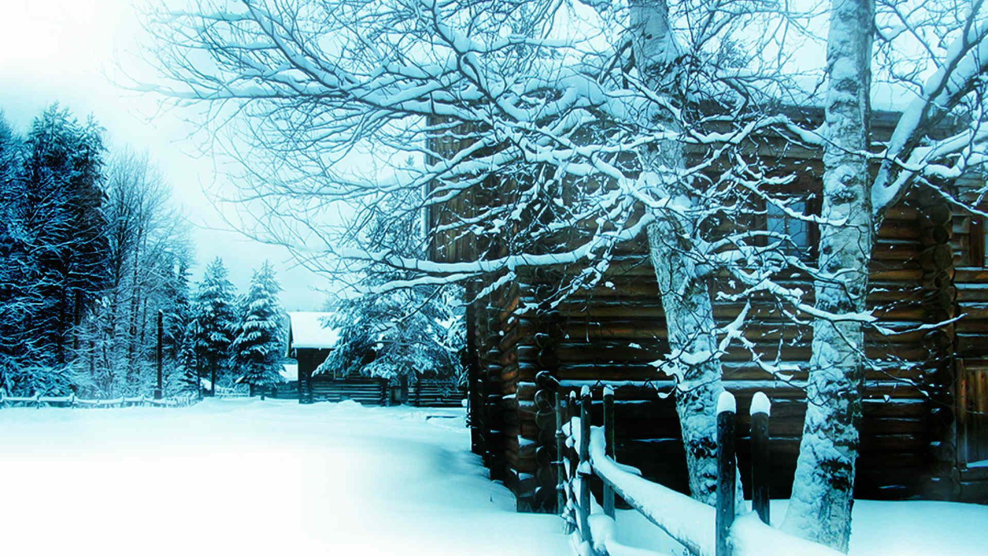бревенчатый дом зимой. осознанный сон про путешествия во времени