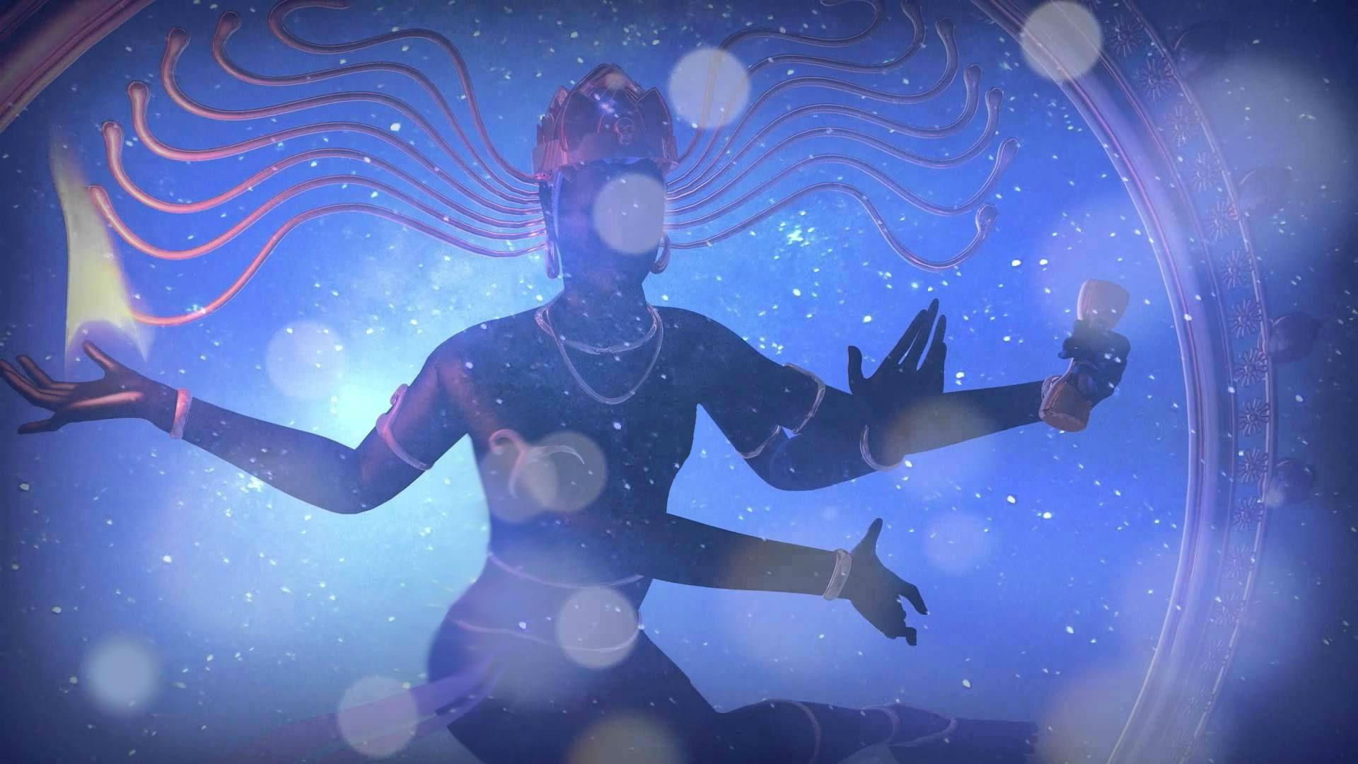 Бог Шива даёт мне Наставления о Структуре Вселенной