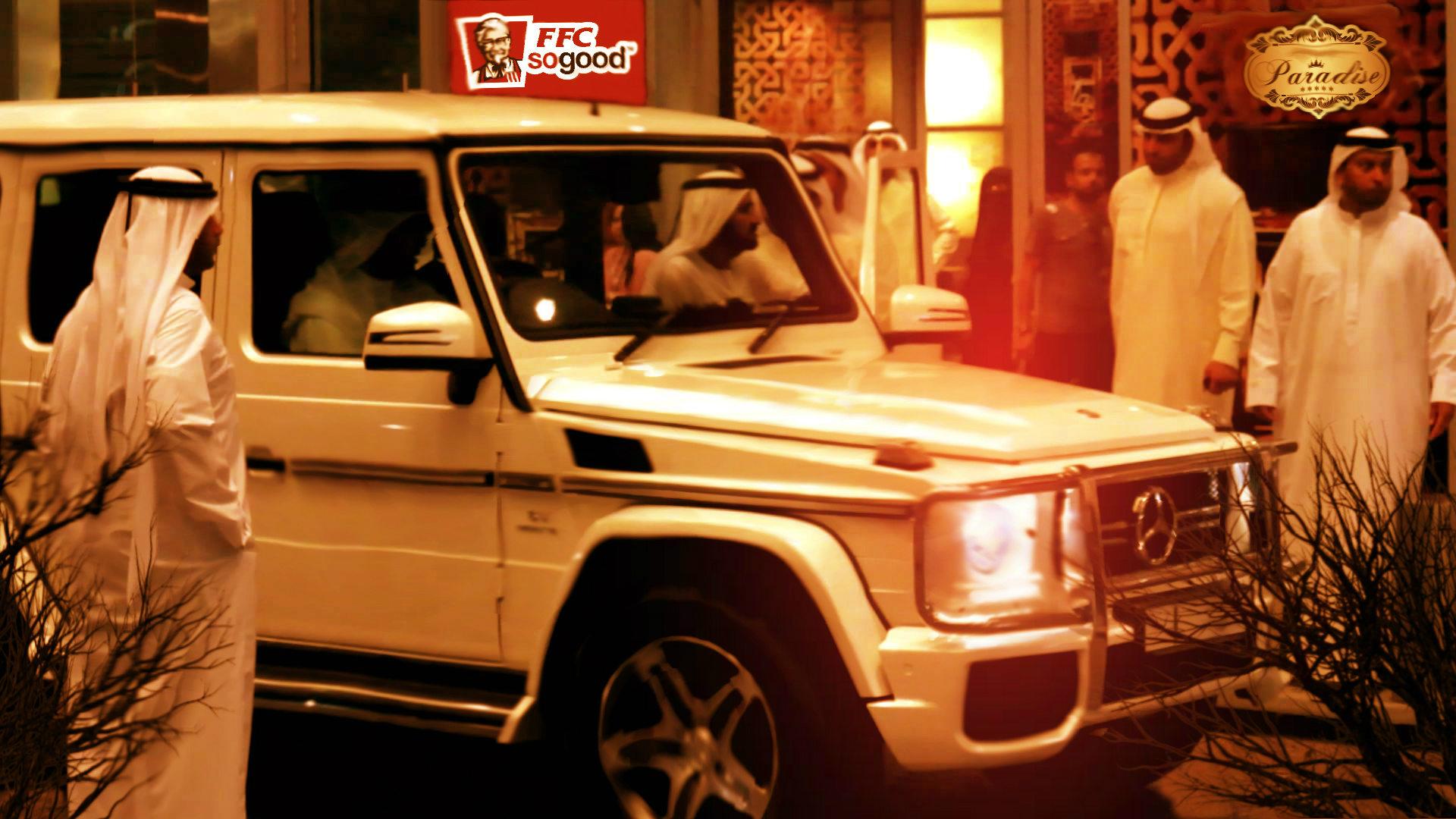арабы, машина и ресторан в пустыне. мой сон: добро пожаловать в ад