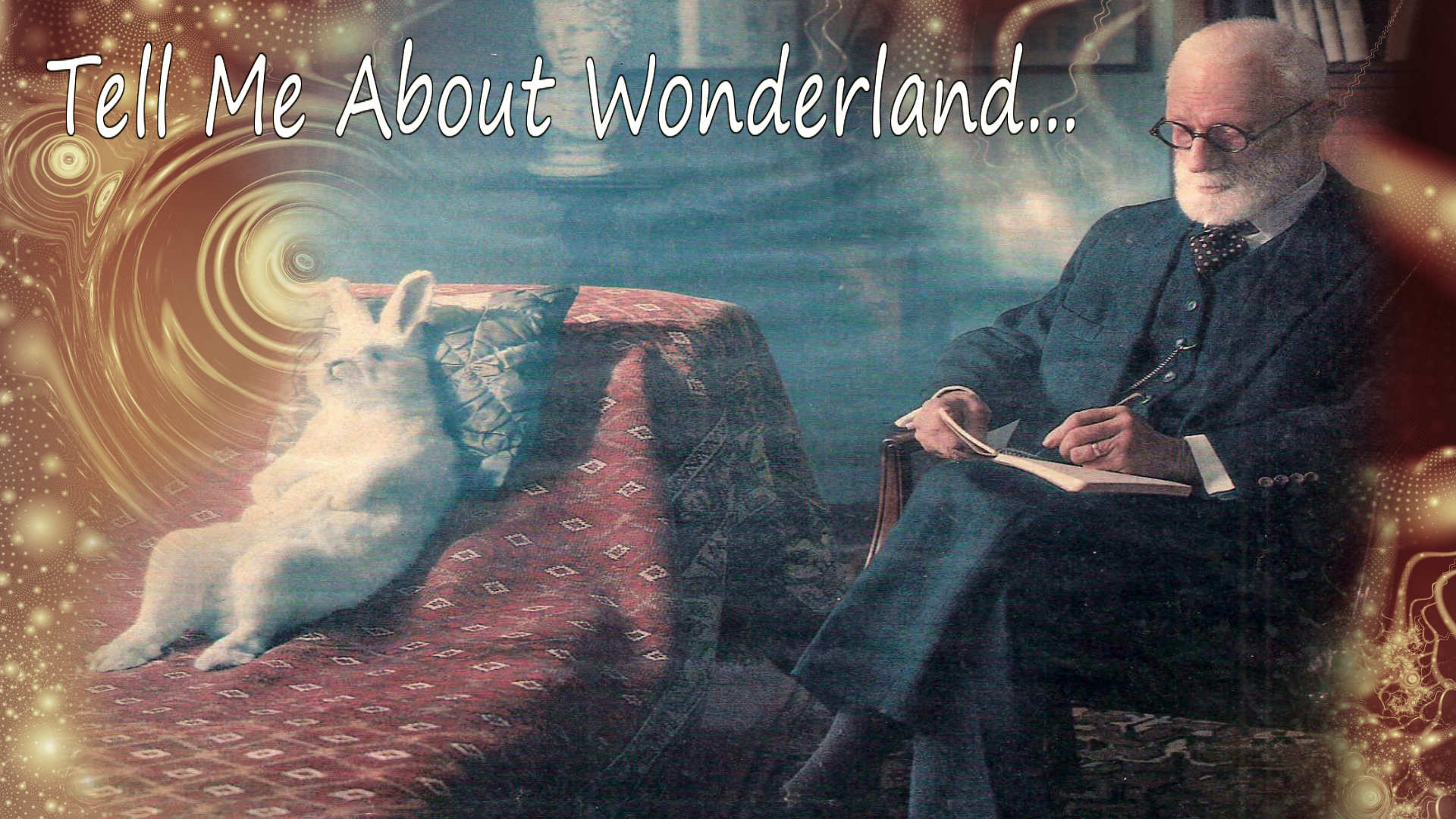 кролик у психиатра. как попасть в страну чудес. осознанный сон?