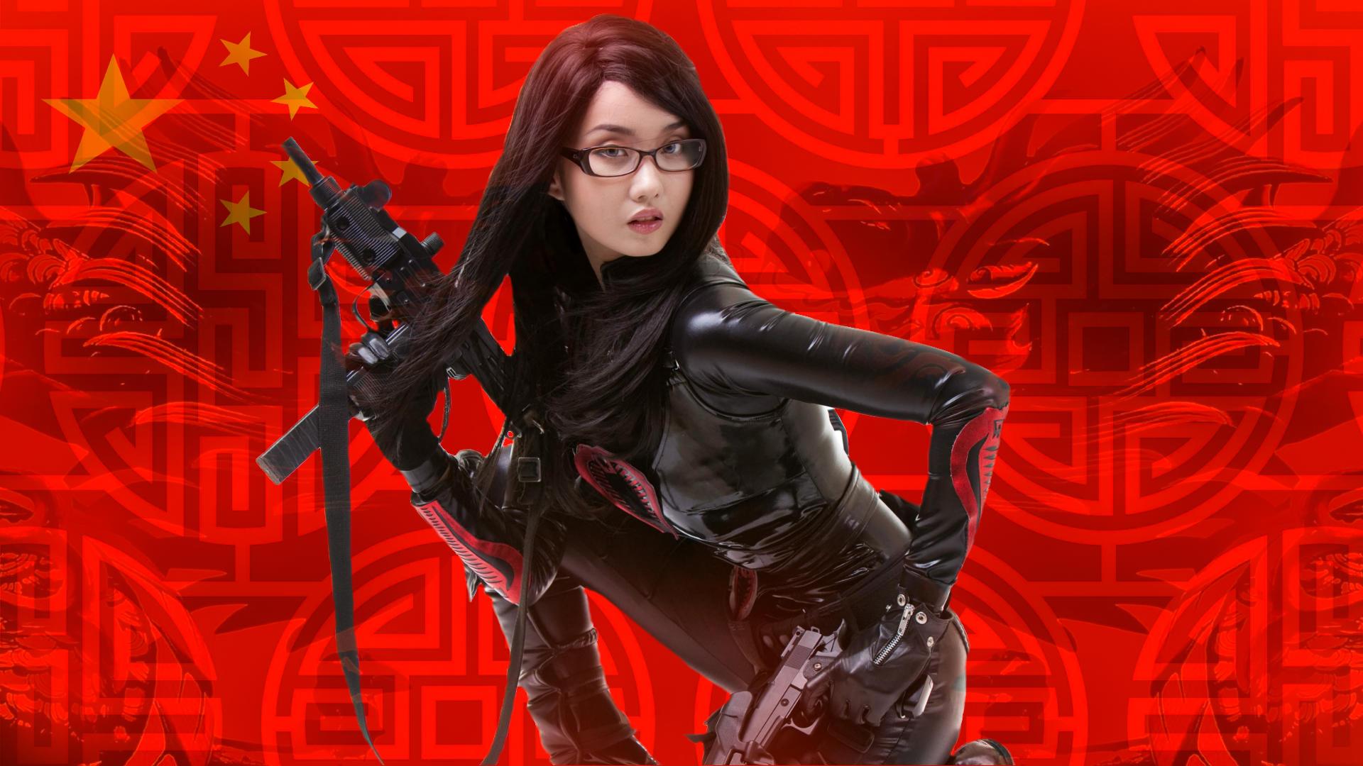 красивая китайская девушка. правительство китая предложило мне работу