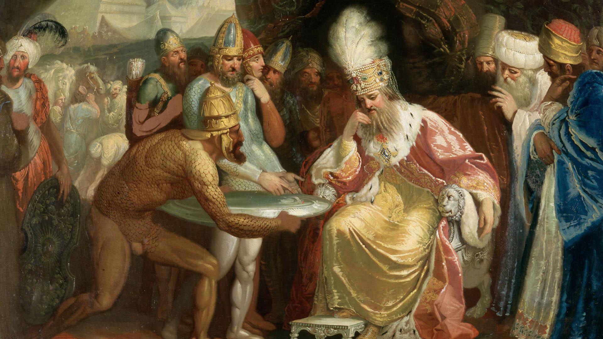 древний правитель. кто создал бога?